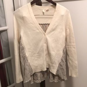 NWOT Anthropologie Moth sweater top Sz Small